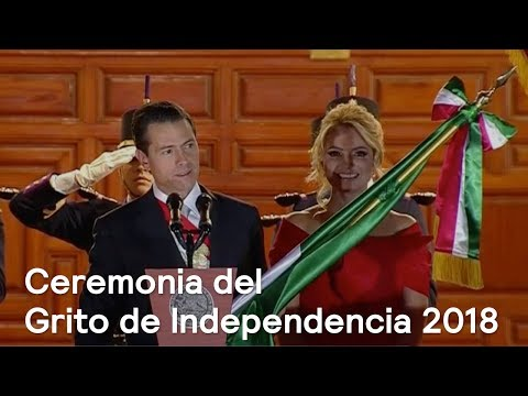 Ceremonia del Grito de Independencia 2018
