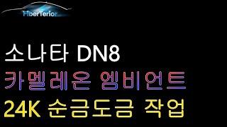 소나타 DN8 카멜레온 엠비언트& 24K 순금도금