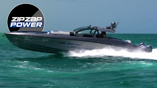 Midnight Express 60 Pied-A-Mer! The BEAST comes to Haulover