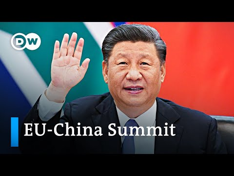 EU-China summit underway as tensions rise | DW News