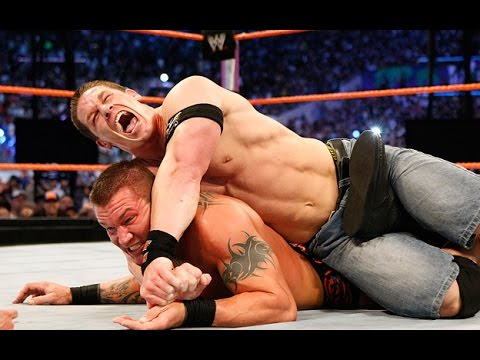 WWE John Cena VS Randy Orton - مصارعه حرة جون سينا 2014 - مصارعه جديدة جون سينا