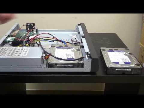 UPGRADE, ADD or Replace BAD Hard drive on DVR / NVR COSTCO, QSee, Lorex, Swann Etc. (CCTV)