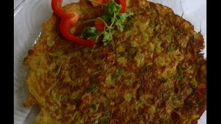 Masala Onion omlet- quick and healthy breakfast