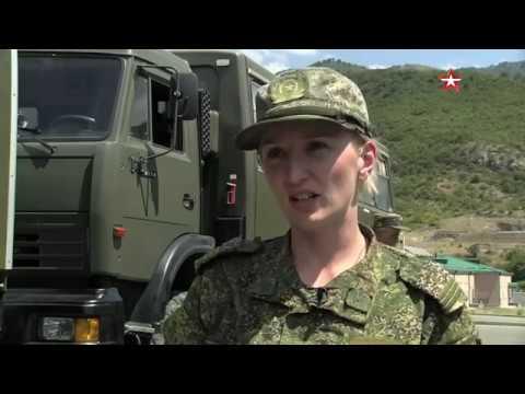 Кадры международного конкурса «Воин Мира» в Армении
