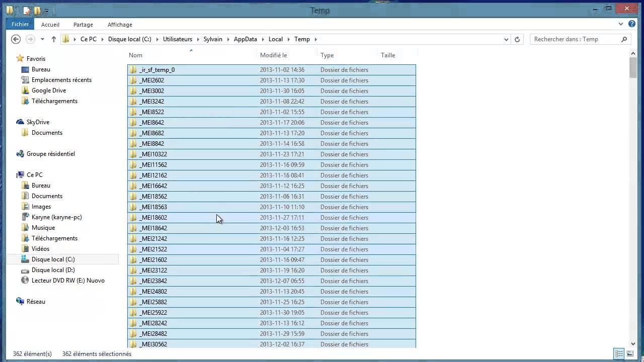 nettoyer son pc windows 8.1