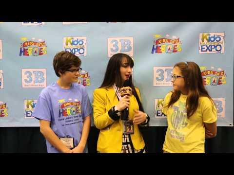 KIDS BUSINESS EXPO - 2015 ATLANTA w/ PAVLINA & KIDS ARE HEROES