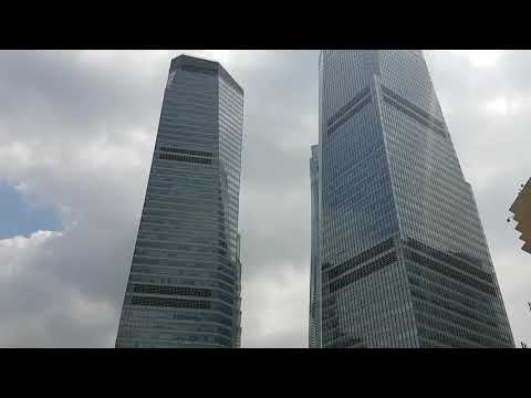 Обзор небоскребов Шанхая