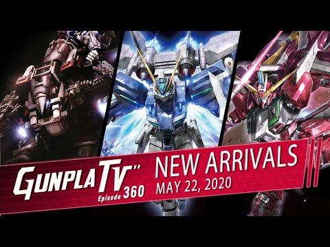 New Gunpla Arrivals For May 22nd | Gunpla TV 360