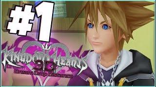 Kingdom Hearts: Dream Drop Distance HD Episode 1