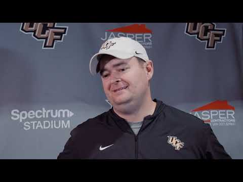UCF Coach Josh Heupel - Dec. ,