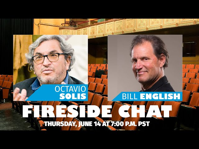Empathy Gym Fireside Chats | Octavio Solis