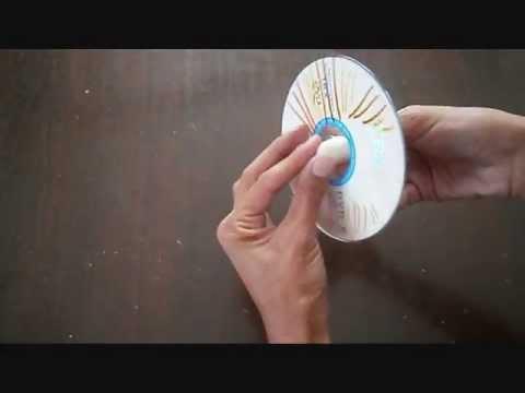 יצירה לחנוכה-סביבון מדיסק dreidel from disk