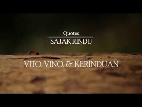 Quotes Sajak Rindu Vito Vino Kerinduan Novel Oleh S
