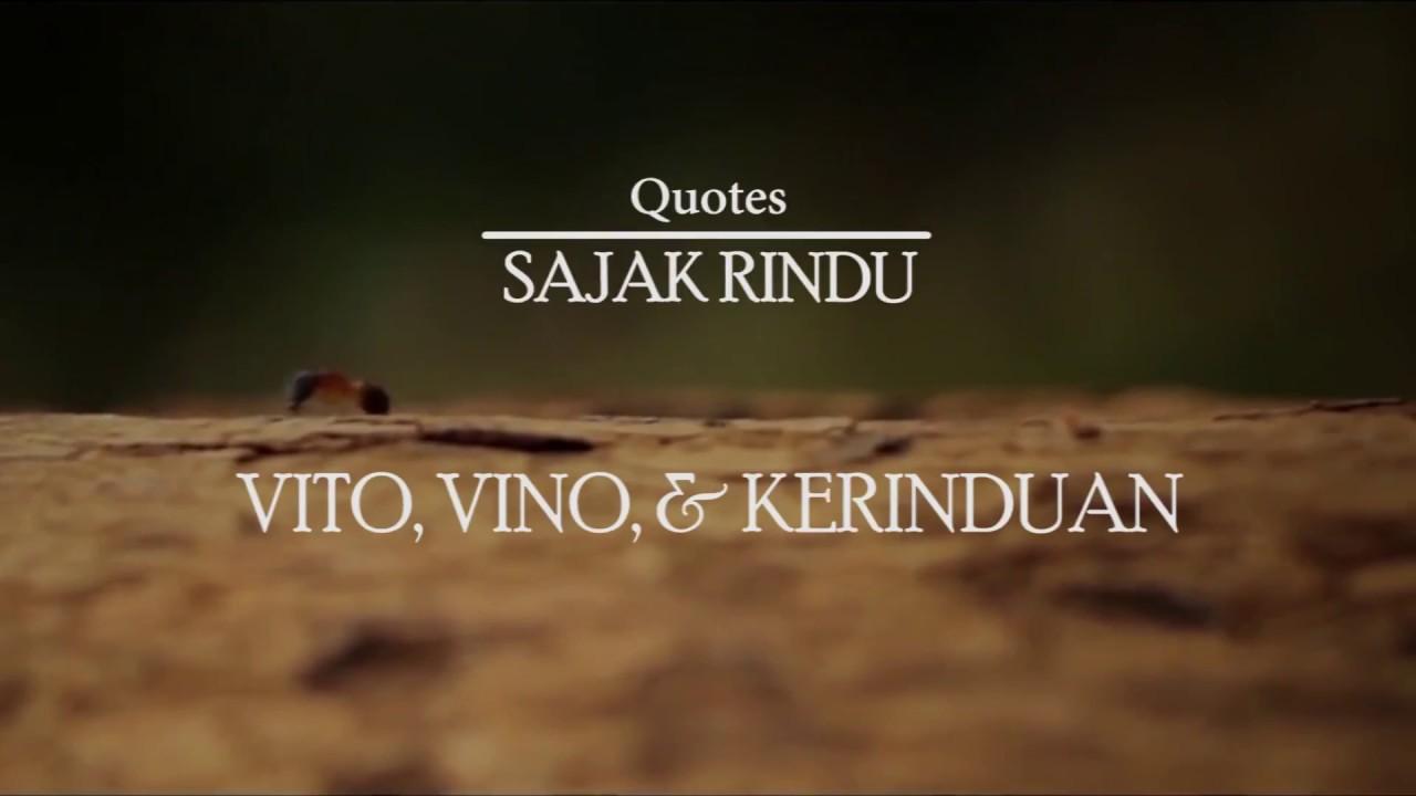 Quotes Sajak Rindu Vito Vino Kerinduan Novel Oleh S Gegge Mappangewa