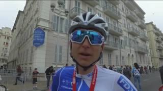 Première réaction de Rudy Molard à la fin de ce Paris-Nice 2017 !
