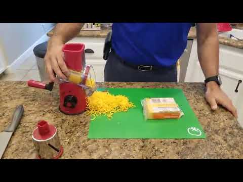 amazing-rotary-cheese-grater-handheld,-vegetable-mandoline-slicer-easy-cleaning!