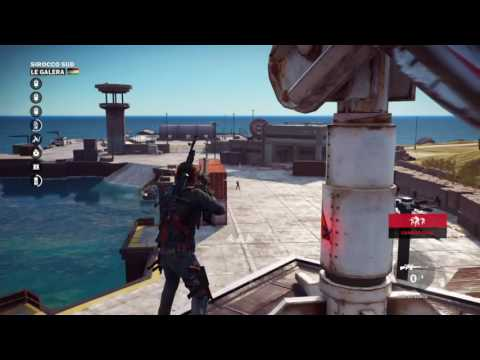 Just Cause 3 -Large chaos object destroyed