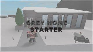 ROBLOX   Bem-vindo ao Bloxburg ~ Grey House   Início 10K Starter