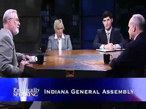 Politically Speaking - 02/19/2012 Indiana General Assembly (Part 1)