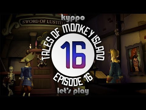 Let's Play Tales of Monkey Island Chapter 4 - Trial and Execution of Guybrush Threepwood - PART 16