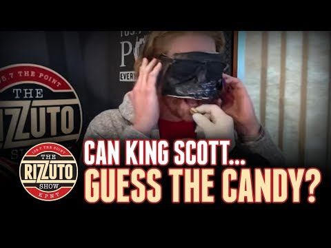 Can King Scott guess the candy? [Rizzuto Show]
