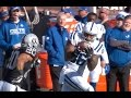 Andrew Luck 45 Yard Pass To Erik Swoope || Week 16 Colts at Raiders