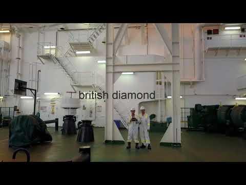 GAS ships.british diamond @ anchorage hadera israel.
