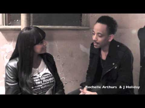 J Holiday Interview with Rochelle Arthurs behind the scenes April 2015