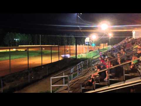 Sabine Motor Speedway 6/21/14 modified heat