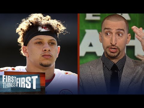 Nick Wright warns Mahomes, Chiefs ahead of matchup vs. the Seahawks | NFL | FIRST THINGS FIRST