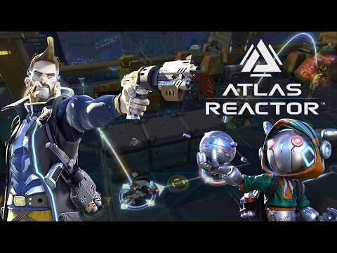 Atlas Reactor - Cooperative Gameplay With W4stedspace