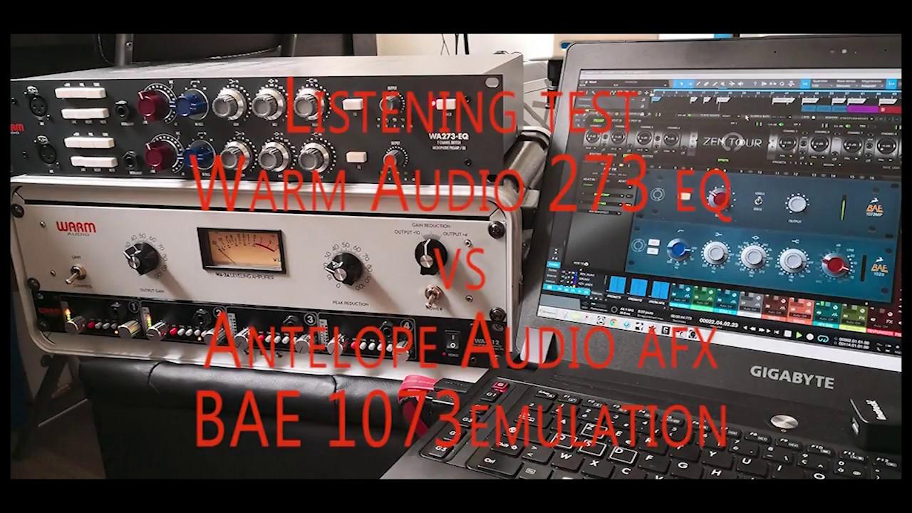 WA273 vs AFX BAE 1073
