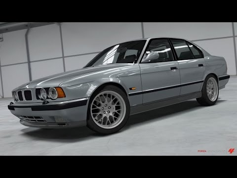 Forza Motorsport 6 1995 BMW M5 E34 Drag Build - YouTube