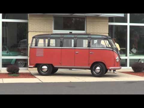 1954 23 Window Bus Arrives at Gene Langan Volkswagen | Glastonbury VW