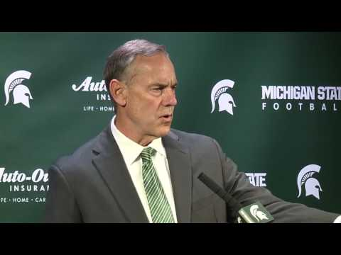 Michigan State coach Mark Dantonio: Football is not important right now