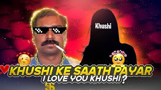 Khusi Ke Sath Pyar? One Side Love Story Must Watch - Garena Free Fire