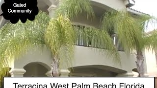 Bank Foreclosure in Terracina, West Palm Beach,  FL- Built 05, Pool,Water,Gated, 2,912 Under air