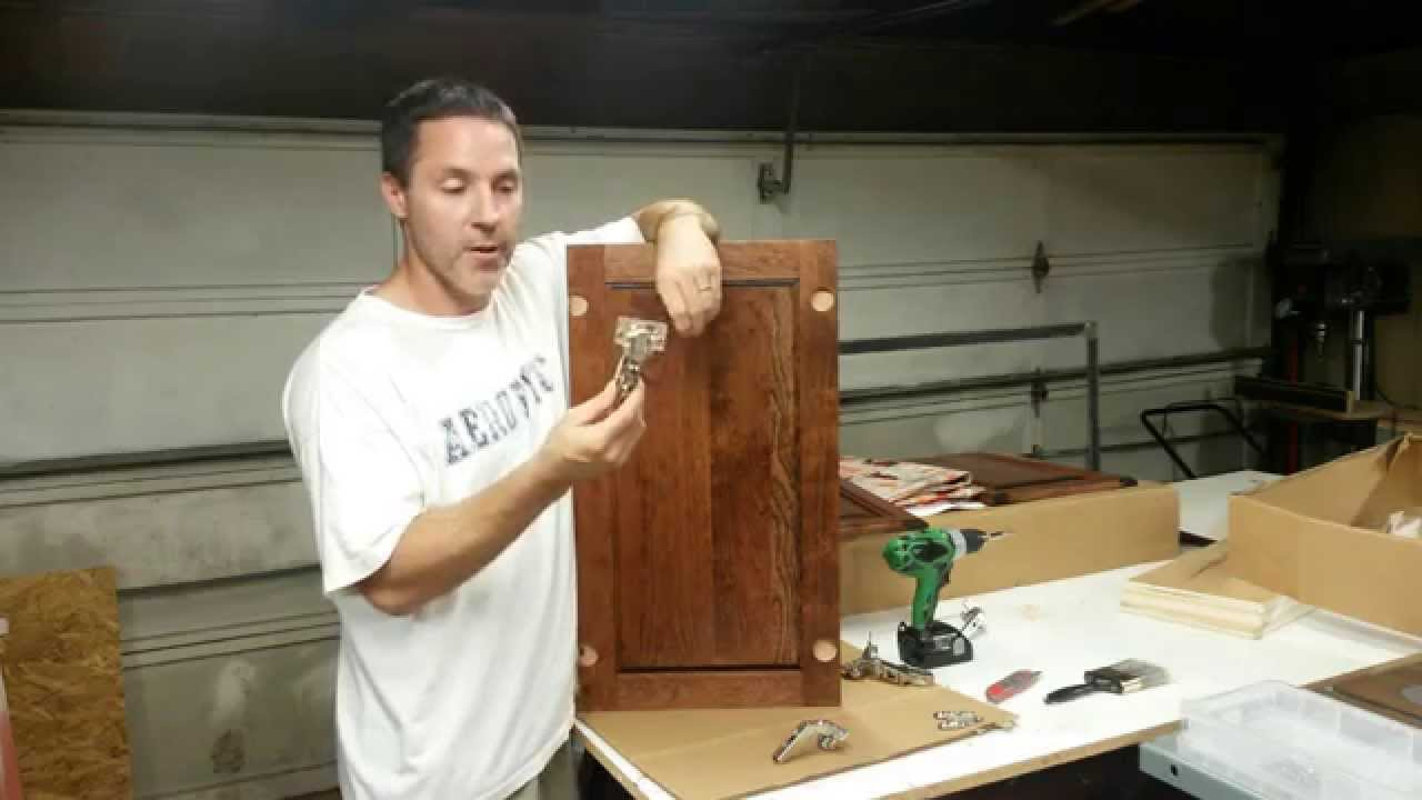 Kitchen Cabinets: Installing Lazy Susan Doors - YouTube