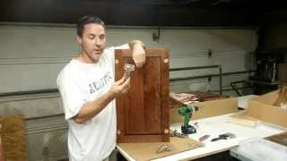 Kitchen Cabinets: Installing Lazy Susan Doors