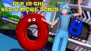 Ten In The Bed & More Songs | Kids Songs | Nursery Rhymes | Baby Songs | Children Songs