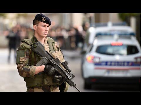 France: Police arrest suspect after car ploughs into soldiers patrolling Paris
