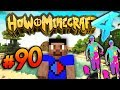 COLOUR RUNNER EVENT! - HOW TO MINECRAFT S4 #90