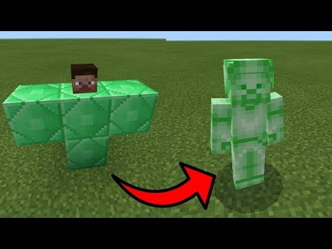 How To Spawn Green Steve In Minecraft PE