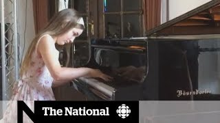 Piano prodigy 'Little Miss Mozart' makes Canadian debut