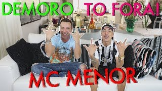 DEMOROU, TO FORA!!! FEAT. MC MENOR MR | #HottelMazzafera