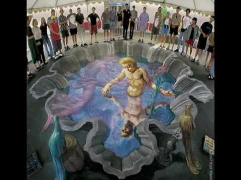 Amazing 3D street paintings Kurt Wenner (Safridue)