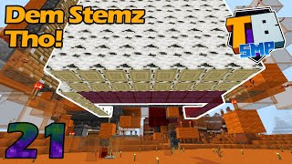 Dem Stemz Tho, Stem and Log Farms! - Truly Bedrock S2E21 With SilentWisperer