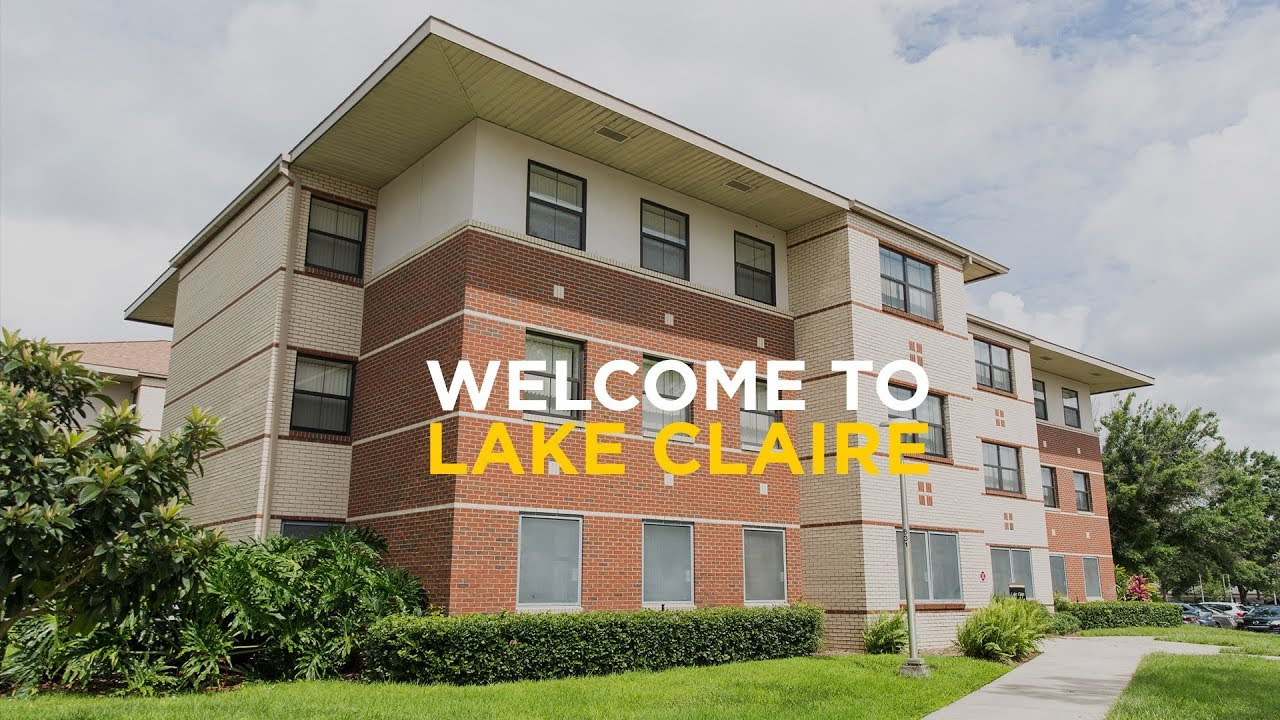 Ucf Housing Tour Lake Claire Community