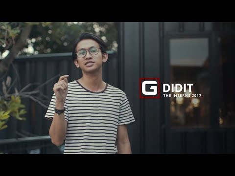 Didit's Story from #TheInterns 2017 | GENERATION-G