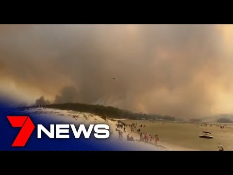 Fires destroy towns on the New South Wales south coast | 7NEWS